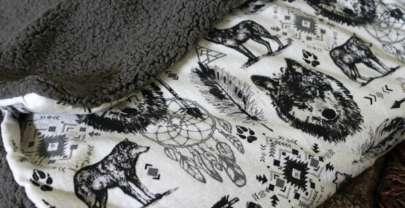 Easy Sew Cuddle Blanket