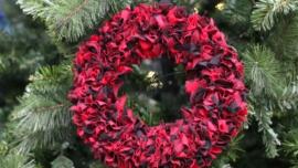 DIY Fabric Rag Wreath