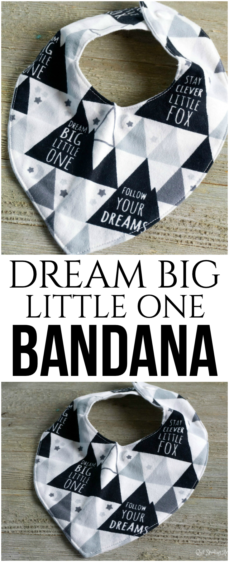 Dream Big Little One Bandana