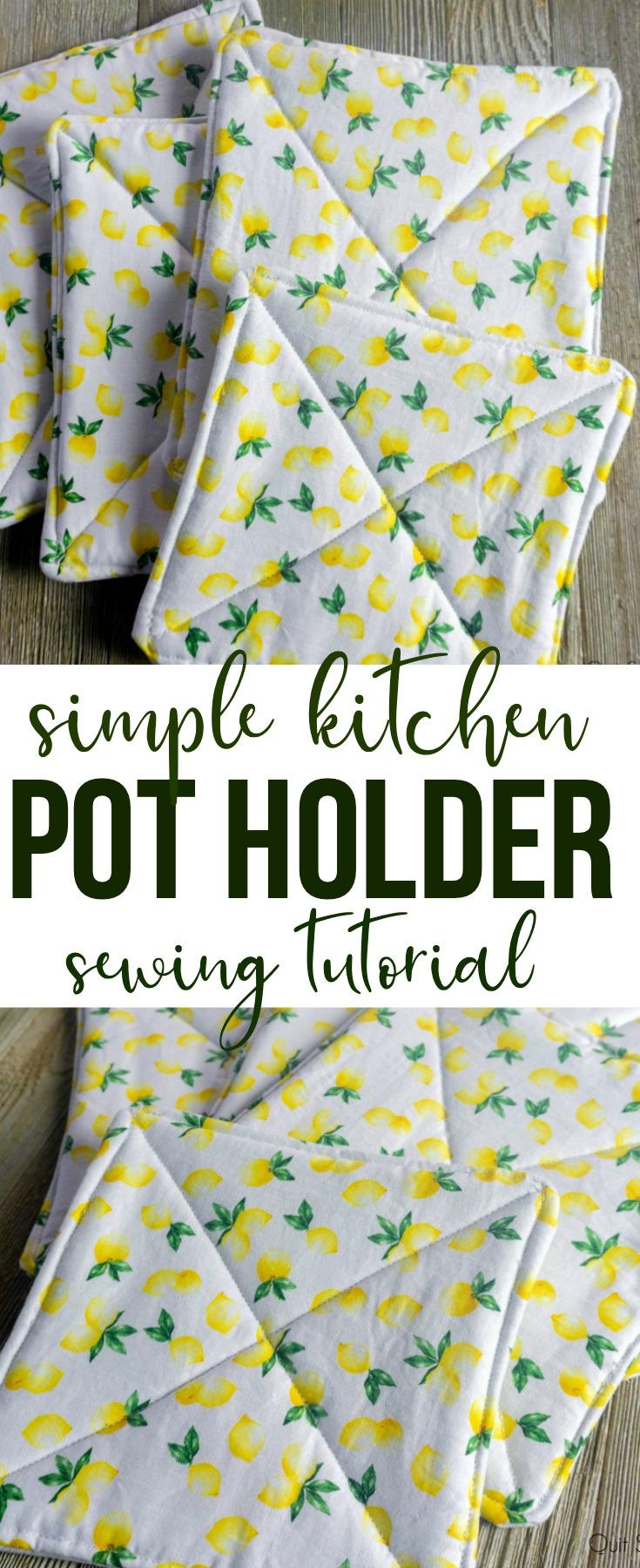 Kitchen Pot Holder Tutorial