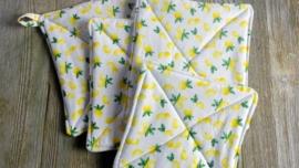 Lemon Pot Holders