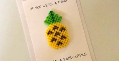 Pineapple Perler Bead Project