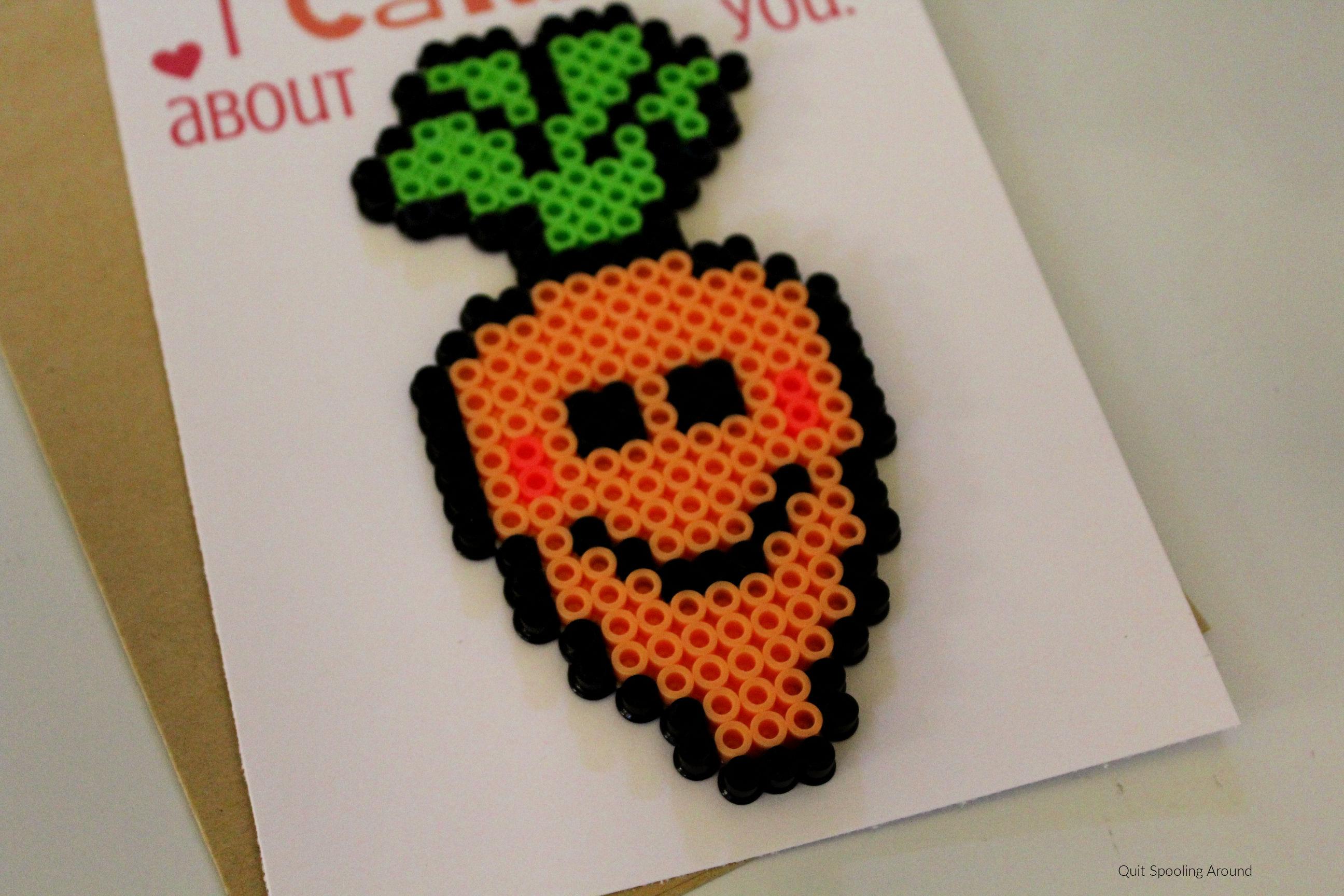 Carrot Perler Bead